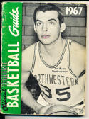 1967 Official collegiate NCAA Basketball Guide Jim Burns Northwestern