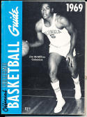1969 Official collegiate NCAA Basketball Guide Jim Mcmillian columbia