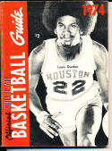 1974 Official NCAA Collegiate Basketball guide em Louis Dunbar Houston