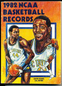 1982 Official NCAA Basketball Records Kevin Magee Cal Irvine
