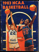 1983 Official NCAA Basketball Records Ralph Sampson Virginia em