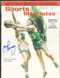 1963 12/9 Signed Sports Illustrated Frank Ramsey Celtics  no label