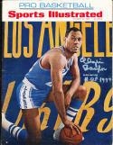 1966 10/24 Signed Sports Illustrated Elgin Baylor Laker no label silver ink