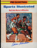 1970 10/26 Signed Sports Illustrated Oscar robertson Bucks no label