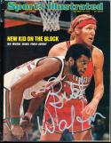 1974 10/14 Signed Sports Illustrated Bill Walton  no label psa/dna