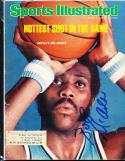 1976 3/8 Signed Sports Illustrated Bob McAdoo Braves