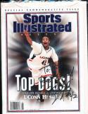 1999 Signed Sports Illustrated Presents Connecticut khalid el-amin no label
