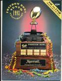 1993 Utah vs USC Freedom Bowl Program nm