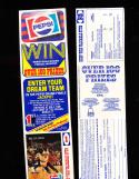 1980 Phoenix Suns Pepsi Set with Tabs uncut 12 cards nm