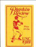 November 30, 1922  USC vs  Washington State Football Program