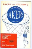 1960 Los Angeles Lakers Press Guide