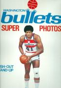 1977 Washington Bullets Stand ups unopened Wes Unseld 11 1/2 x 14 1/2