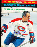 1973 4/2 Henri Richard  Signed sports Illustrated newsstand no label