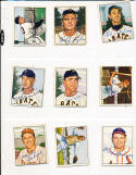 1950 Bowman signed 201  pete Castiglione Pittsburgh Pirates d.2010 card