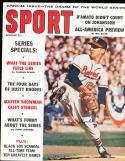 1959 October Warren Spahn Braves  Newsstand  Sport Magazine SIGNED AUTOGRAPH