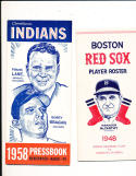 1948 Boston Red Sox Player Roster em