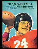 11/30 1939 Washington State vs UCLA - Jackie Robinson Football Program