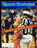 10/9 1978 Sports Illustrated Signed Terry Bradshaw Steelers spence