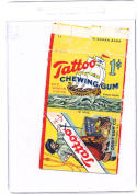 1932 tatoo orbit gum wrapper