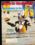 1/15 1979 Sports Illustrated Signed Terry Bradshaw Steelers psa/dna no label