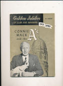 1950 Philadelphia Athletics yearbook em  bxb1