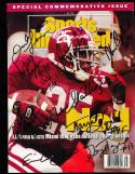 1993 9 Signed Alabama Commemorative  sports Illustrated  SIGNED