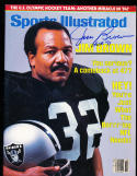 12/13 1983 Sports Illustrated signed Raiders no label newsstand