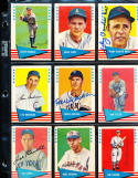 Lou Boudreau Cubs  1961 Fleer signed Baseball Hof card