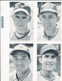 1945 Milwaukee Brewers minor league cards  nrmt  12 different
