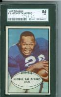 1953 Bowman #19 George Taliaferro nm 7 sgc 84