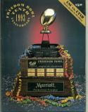 1993 Freedom Bowl USC vs Utah Football  Program - Dec 30 nrmt