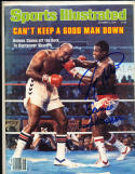 1979 10/8 Ernie Shavers & larry Holmes boxing  Signed sports Illustrated