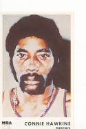 1972 icee bear Connie Hawkins Phoenix Suns  nm/mt
