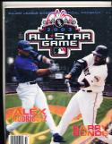 2003 Barry bonds A Rodriquez All Star Program nrmt-mt