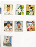 1950 Bowman Signed card #26 Grady Hatton Cincinnati Reds JSA