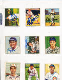 1950 Bowman Signed card #77 Duke Snider Brooklyn Dodgers JSA