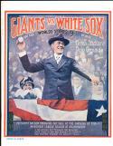 1917 Giants vs White Sox World Series program - opie reprint