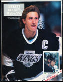 1990 #1 Wayne Gretzky Los Angeles Kings Signed magazine