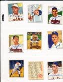 Mike Garcia 147 Cleveland Indians signed 1950 Bowman d.86 card