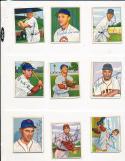 1950 Bowman signed 170 Emil Leonard Chicago Cubs card