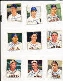 ken Wood 190 signed 1950 Bowman st. louis browns card