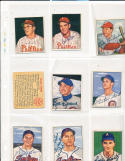 1950 Bowman signed 227 Bob Miller Philadelphia Phillies card