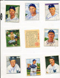 sherry Robertson 161 Washington Senators  signed 1950 Bowman d.70 card