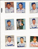 1950 Bowman signed 222 Bobby Morgan Brooklyn Dodgers card