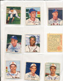 1950 Bowman signed 250 ray coleman  st louis browns ex card