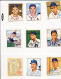 1950 Bowman signed 208 Jim Hearn St. Louis Cardinals d.98 card