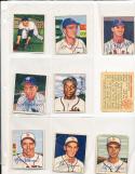 1950 Bowman signed 247 Irv Noren washington Senators ex card