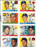 Preston Ward Pittsburgh Pirates 95  Signed 1955 Topps Card