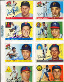 Harry Elliott St. Louis Cardinals 137  Signed 1955 Topps Card