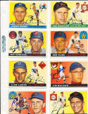 Clem Labine Brooklyn Dodgers  180 1955 Topps Signed